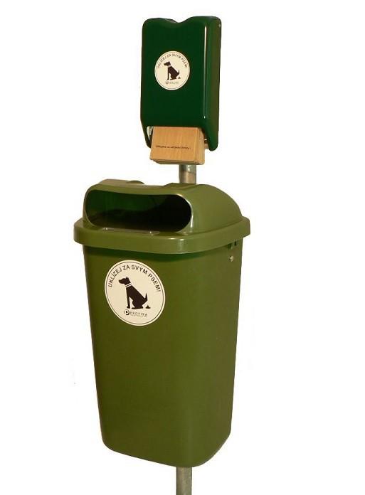 Oblíbený odpadkový set napsí exkrementy | parkove-lavicky.cz